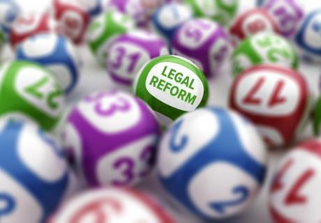 """Legal reform"" among lottery balls."
