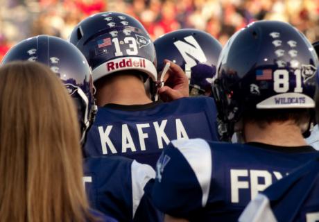 Northwestern University football players