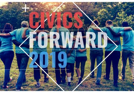 Civics Forward event