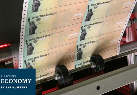 Social Security checks are printed in Philadelphia, PA.