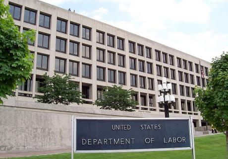 Department of Labor headquarters in Washington, D.C.