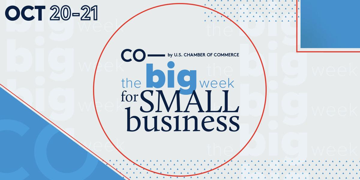 Join CO— for The Big Week for Small Business on October 20 and 21