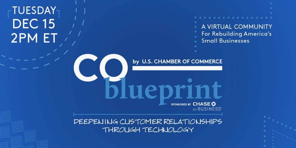 Register today for CO—Blueprint: Deepening Customer Relationships Through Technology on Dec 15
