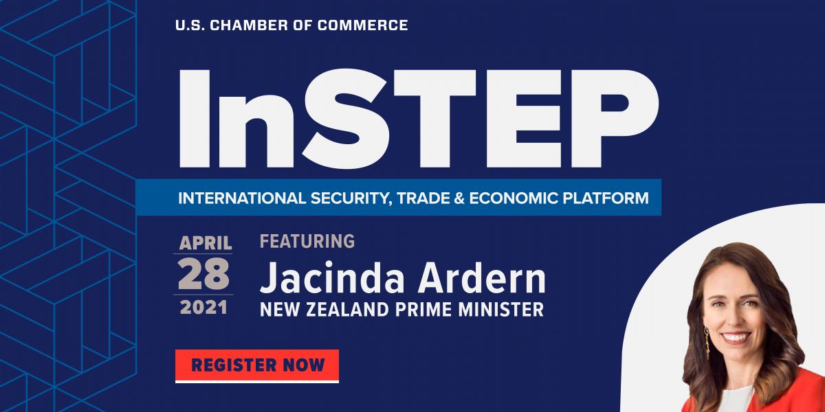 InSTEP with NZ PM Jacinda Ardern