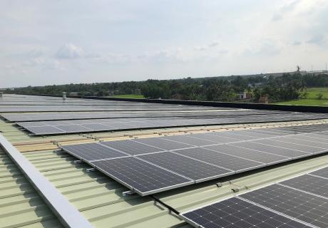 VF solar panels in Vietnam