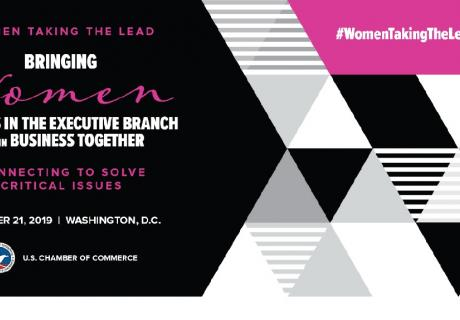 Women Taking the Lead October Luncheon Graphic