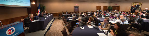 Panoramic view of the Affordable Care Act Conference