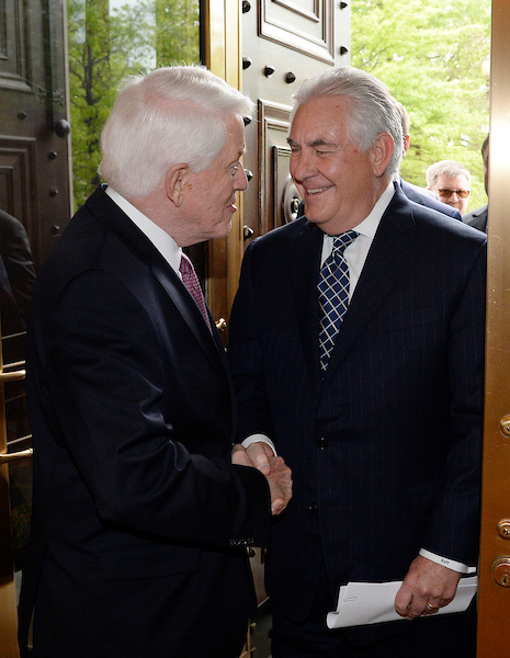 Tom Donohue and Rex Tillerson