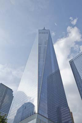 One World Trade Center in New York City.