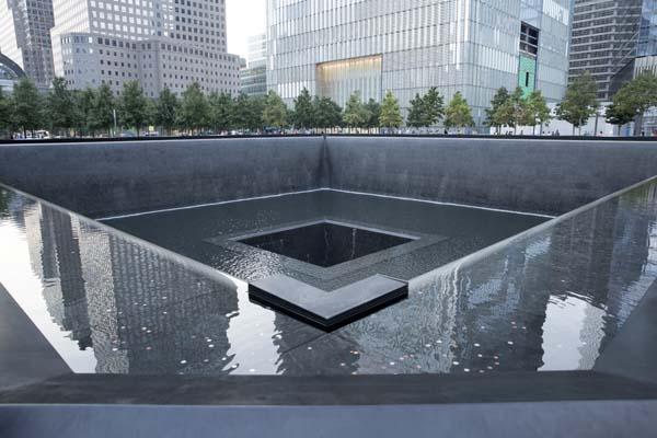 The National September 11 Memorial.