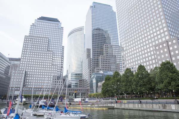 World Trade Center buildings.