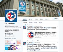 U.S. Chamber of Commerce on Twitter