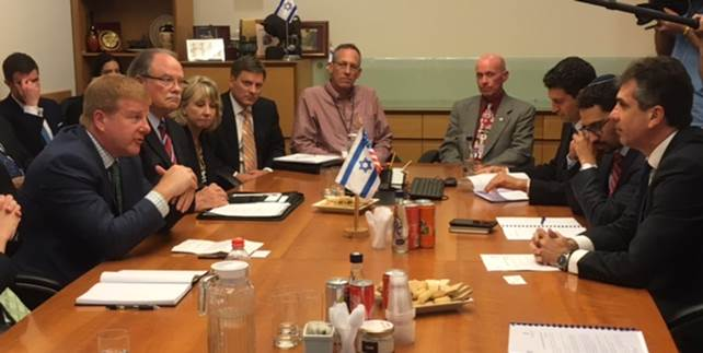U.S.-Israel Delegation Meeting