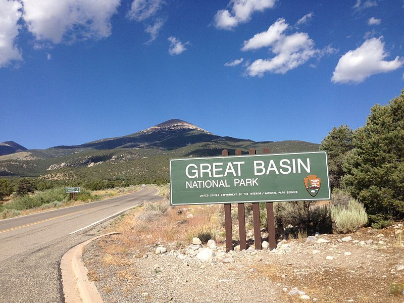 Entrance to Great Basin National Park