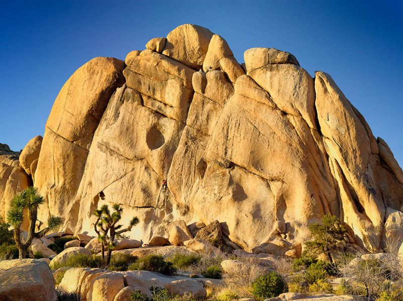 Old Woman Rock in Joshua Tree National Park