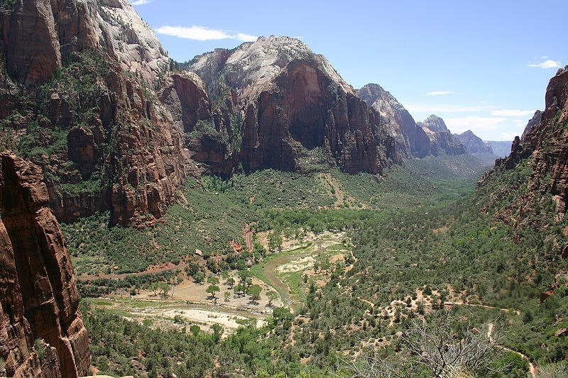 The West Rim of Zion National Park