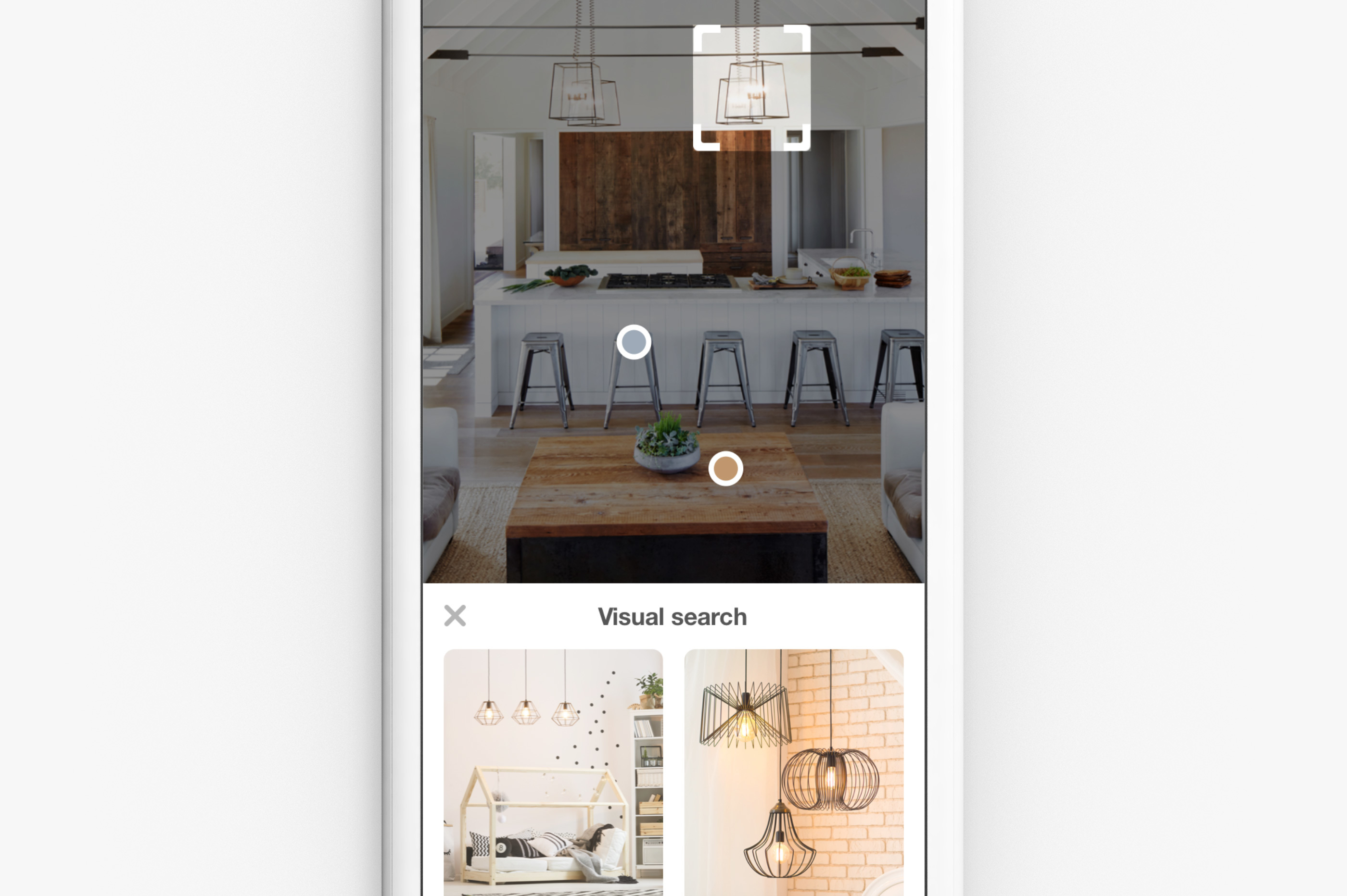 pinterest, visual search, living room