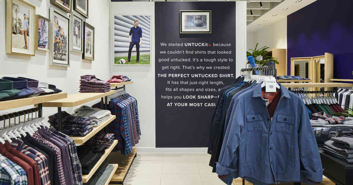 UNTUCKit Makes a Big Bet on Men's Fashion Abroad