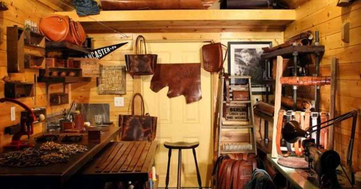 How the Founder of Black Bear Leather Went from Capitol Hill Staffer to Amish Country Craftsman