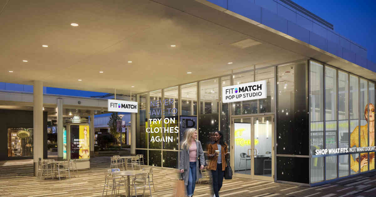 Fit:Match Partners With Brookfield Properties to Eliminate the Need for Shoppers to Try on Clothes