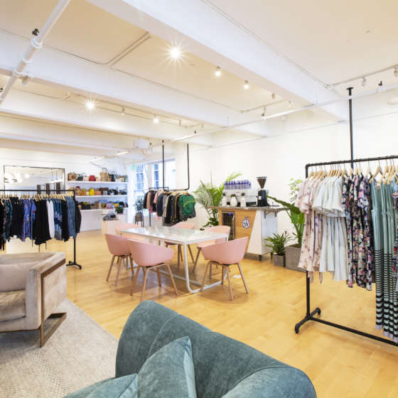 interior of rent the runway location