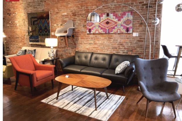 Family-owned Algin Furniture, located in Cincinnati, offers retro and vintage furnishings and decor for home or office.