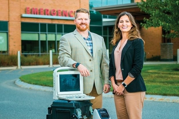 Ashley and Dan Rice of New England Vascular Access