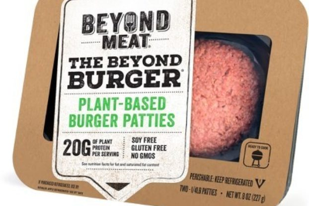 beyond burger from beyond meat