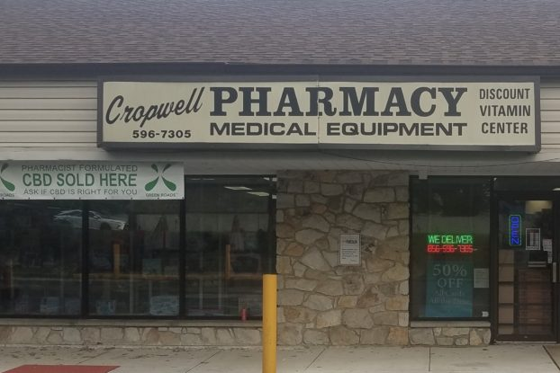 exterior of cropwell pharmacy in marlton, NJ