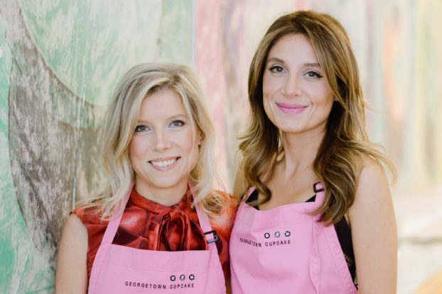 headshot of co-founders of georgetown cupcake