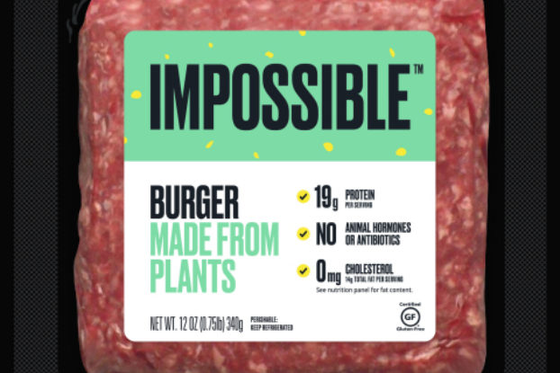 impossible burger from impossible meat