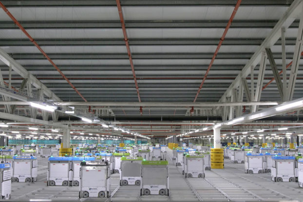 kroger customer fulfillment center interior