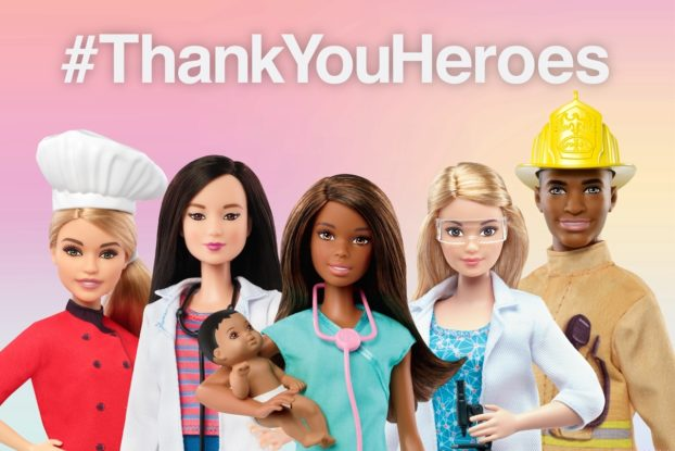 Mattel's special edition Barbie heroes