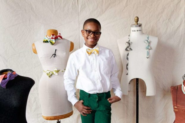 Teenager Moziah Bridges started Mo's Bows