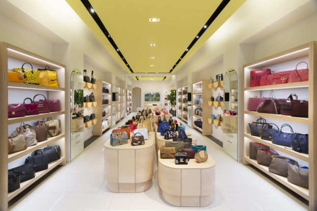 interior of rebag store