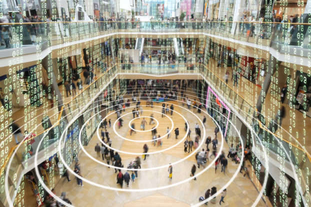interior of mall showing cellphone locations
