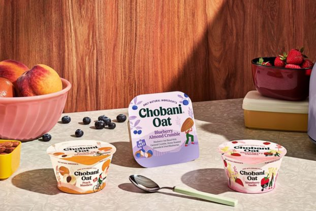 chobani oat products on a counter top
