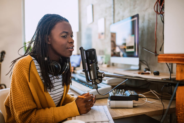 Grow your brand by hosting a podcast.