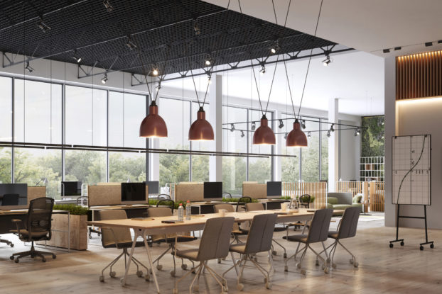 modern office conference room