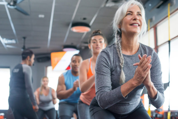 orangetheory fitness class with people of all ages
