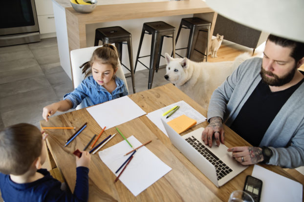 Small businesses can support employees with kids.